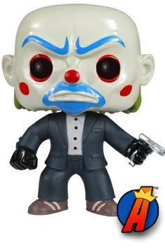 Dark Knight Movie Bank Robber Funko Pop! Heroes Figure Number 37. #funko #bankrobber #popheroes #funkopopheroes #batman