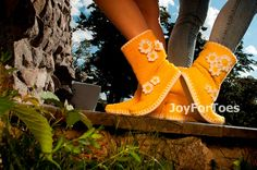 #Crochet #Boots #Outdoor #Shoes #Daisy #Woman #Fashion by #JoyForToes