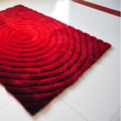 Rug Tycoon Red Area Rug