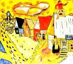 Marc Chagall, 1911, The Village Store, 00001466-Z