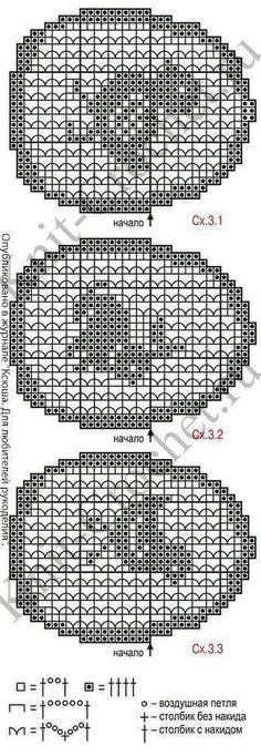Knitting Patterns Christmas Pattern pattern with a description of crochet swipe napkins Filet Crochet Charts, Crochet Cross, Crochet Diagram, Crochet Motif, Crochet Doilies, Crochet Stitches, Easter Crochet Patterns, Doily Patterns, Cross Stitch Patterns
