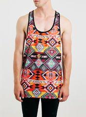 Jaded Black Aztec Vest*