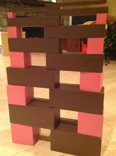 Montessori Pink Tower and Brown Stair Play