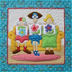 Quilt Pattern by Amy Bradley Designs  fusible applique