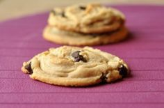 Peanut Butter Chocolate Chip Cookies. Bake, freeze and grab one at a time for a quick snack or make a double batch and freeze half the uncooked cookie dough balls for another occasion.