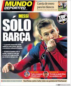 Portada Mundo Deportivo 3/1/2015