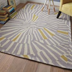 west elms swirl rug as inspiration