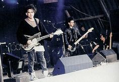 The Cure on stage