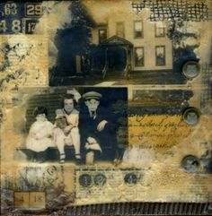 beeswax encaustic collage | The following text will not be seen after you upload your website ...