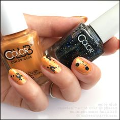 Color Club Cheetah-Me-Not over Unphased