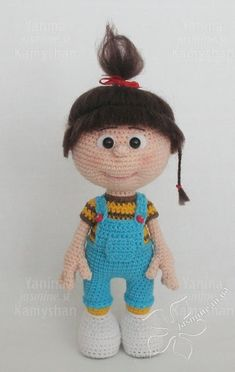 Baby Agnes, Crochet Pattern, Doll Pattern, PDF Pattern, Amigurumi Doll