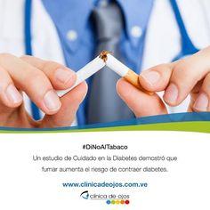 #DiNoAlTabaco Ahora sabemos que fumar causa diabetes tipo 2. De hecho, los fumadores tienen entre 30 a 40 % más probabilidades de tener diabetes tipo 2 que los no fumadores. Y las personas que tienen diabetes y fuman tienen más probabilidades que las no fumadoras de tener problemas con la dosificación de la insulina y para controlar su enfermedad