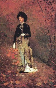 Autumn ~ Winslow Homer ~ (American: 1836-1910)