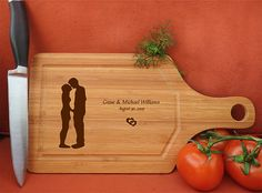 kikb633 Personalized Cutting Board lovers wedding gift anniversary Wedding Reception Tables, Wedding Table Settings, Cross Tree, Purple Wedding Centerpieces, Unique Wedding Gifts, Wedding Things, Wedding Guest Looks, Personalized Cutting Board, Wall Decor Stickers