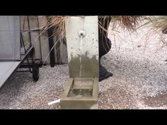 Bird Element Fountain by Campania International is such a small fountain and packs a powerful soothing water sound to bring years of enjoyment to your home o. Small Fountains, Garden Fountains, Bird, Plants, Outdoor, Outdoors, Diy Garden Fountains, Birds, Planters