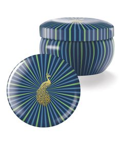 Look at this Brody Peacock Icon Candle on #zulily today!