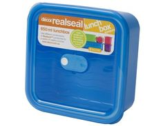 Realseal™ Lunchbox, 650 ml Just right for a sandwich, wrap, rice cakes or a small salad, and it's also a good size for leftovers.