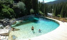 Granite Hot Springs near Jackson Wyoming Campsites $15 Springs $6/adults $4 /child