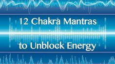 You can use mantras that are known to be in vibrational harmony with each chakra. Here are the powerful benefits of 12 different chakra mantras. Chakra Mantra, Chakra Meditation, Daily Meditation, Mindfulness Meditation, Chakra Healing, Fitness Workouts, Reiki, Affirmations, Chakra System