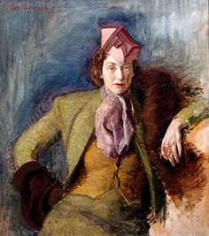 Self Portrait, 1943 by Polly Thayer (Starr) (American 1904-2006)