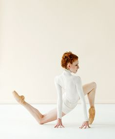 The dancer of the National Ballet of Canada's corps de ballet Sarah Elena Wolff.  I like the pose