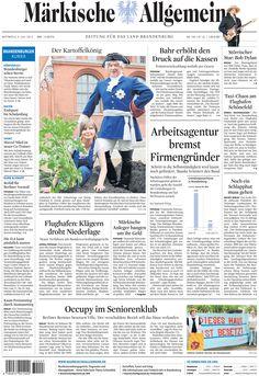 Mittwoch, 4. Juli 2012 - Senioren besetzen ein Haus in Berlin » http://www.maerkischeallgemeine.de/cms/beitrag/12354406/63529/Berliner-Rentner-besetzen-Villa-Der-verschuldete-Bezirk-will.html