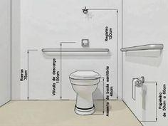 Resultado de imagem para gabarito para ponto de altura de banheiro