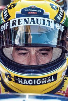 Senna casco Ímola 94