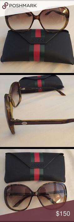 Gucci Sunglasses Never worn, tortoise shell color Gucci Accessories Sunglasses