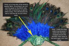 diy peacock tutorial