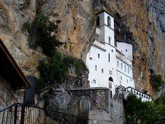Ostrog Monastery in Serbia