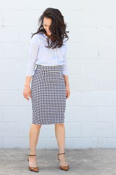 Pleated Pencil Skirt Pattern Release! - delia creates