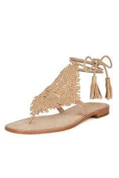 d73f9e492 The definition of boho chic - the Kacia sandal is crafted from soft  metallic tumbled suede. Shoptiques