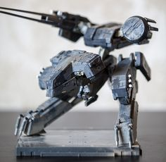 What ho fellows Well i finished my Galactica and was going to start on the TOS Battlestar, but then i saw how much resin was involved and decided id. Metal Gear Rex, Metal Gear Solid, Metal Gear Rising, Nerd Cave, Cool Robots, Futuristic Technology, Model Kits, Warhammer 40k, Godzilla
