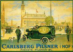 carlsberg truck | Vintage beer advert. Looks great in its su… | Flickr