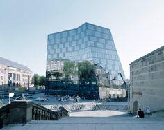 Unibibliothek von Degelo Architekten umgebaut / Diamanten schleifen in Freiburg - Architektur und Architekten - News / Meldungen / Nachrichten - BauNetz.de
