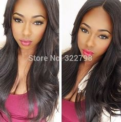 Hot selling natural wave black full lace wig 130-150% density brazilian virgin hair with baby hair for black women