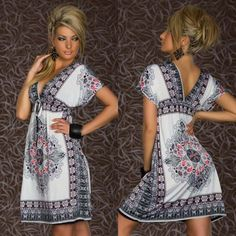 Summer 2014 Sexy Retro 1960s 1970s SunDress Bodycon Vintage Paisley Print Hippie Bohemian Beach Patterns Dress ND26 04-in Dresses from Women's Clothing & Accessories on Aliexpress.com | Alibaba Group