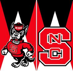 North Carolina State Wolfpack Cornhole Board Wrap