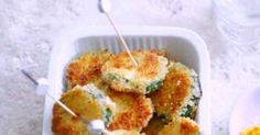 Courgettes panées, sauce yaourt au curry - Marie Claire Idées