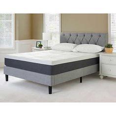 "Blackstone Grand Tufted Platform Bed with 10"" King Mattress"