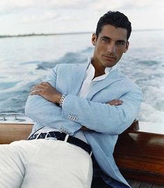 Vintage serious face. | 32 Examples Of David Gandy's Best Serious Face