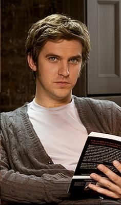 Dan Stevens + book = me drool