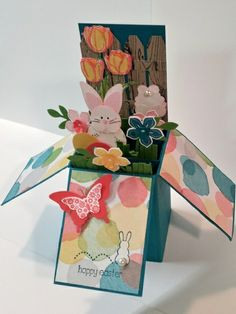 Easter Bunny Card in A Box by Terri A Ransom