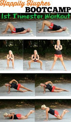 1st Trimester Workouts and Stretches