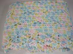Crochet Baby Blanket Baby Girl Baby Boy Baby by AfghansForBabies