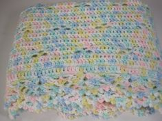 Crochet Baby Blanket Baby Girl Baby Boy Baby by AfghansForBabies