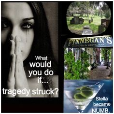 By a Thread by RL Griffin. Meet Stella. She has crap coping skills and friends that enable her. How will she get through it? Find out by reading the first book.