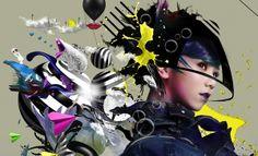 G.E.M. Concert by Calvin Ho, via Behance