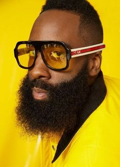 The tale of James Harden, Houston Rockets superstar and presumptive NBA MVP, and the outrageous blossoming of the NBA's most exciting player. James Harden, Nba Players, Basketball Players, Mr Beard, Gq Usa, Curry Warriors, Nba Fashion, Male Fashion, Fashion Trends